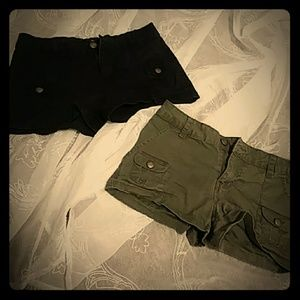 BONGO~Cargo Shorts~Sz 1~Olive/Black